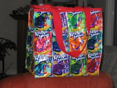 12 Kool Aid Jammers Crafts Ideas Kool Aid Crafts Pouch Craft