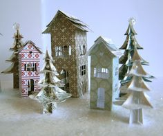 branch out designs: SEI + A Christmas Village