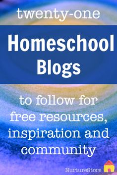 The 21 best homeschool blogs to follow for free resources, inspiration and community. Home education blogs to follow.