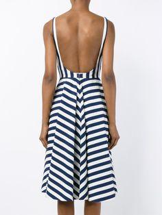 Dolce & Gabbana платье в полоску