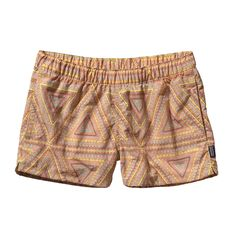 Patagonia Barely Baggies Shorts (Women's) New - Board Shorts & Swim Trunks - Rock/Creek Board Shorts Women, Outdoor Woman, Outdoor Outfit, Workout Wear, Swim Trunks, Swim Shorts, Summer Outfits, Summer Wear, Summer Clothes