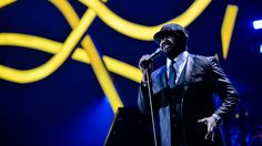 Gregory Porter performing 'Feeling Good / Liquid Spirit' at BBC Music Awards 2014. #HappyEars