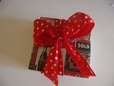 Vintage CocaCola Ceramic Table Coasters by crazydaisy12 on Etsy, $8.00