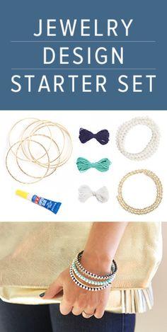 Jewelry Design Starter Set | DIY | Darby Smart | #jewerly #madebyme