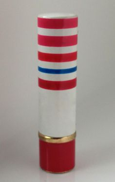 """Bonne Bell Inc. Dist. Lakewood Ohio, Pinback Frosted Lipstick in """"Frosty"""" Lakewood Ohio, Bonne Bell, Frosted Lipstick, Cosmetic Packaging, Lipsticks, The Past, Cases, Doll, Makeup"""