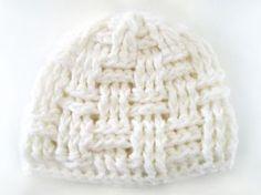bonnet blanc crochet