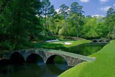 A view from Augusta National Golf Club!  #masters is coming up! #12hole