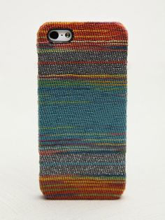 Free People Fabric iPhone 4/5 Case at Free People Clothing Boutique... I'm totally digging this case..