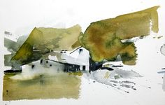 Watercolor painting Iceland 8 #watercolor jd