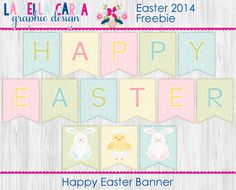 Easter - FREE Happy Easter Banner