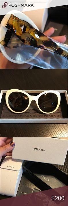 Prada Sunglasses New with box. Very cute designer Sunglasses Prada Accessories Sunglasses