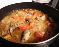 Ginisang Sardinas at Miswa recipe