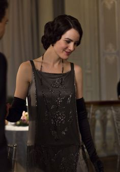 Michelle Dockery as Lady Mary Crawley in Downton Abbey  (2013).