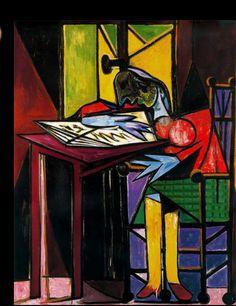 Pablo Picasso (1881-1973), Donna che legge, 1935. Parigi, Musée Picasso.