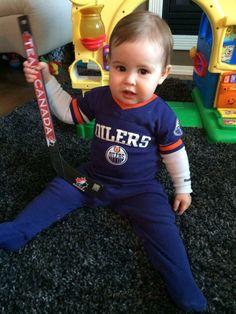 Edmonton #Oilers fan, Bennett! - Daniel Milburn