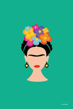 Pin by Jen Howell on ♥ Frida Kahlo Love ♥ Kahlo Paintings, Frida Art, Buch Design, Mexican Art, Painted Rocks, Iphone Wallpaper, Pop Art, Art Drawings, Art Projects