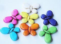 Neon Pendants/ Butterfly  Large multicolored by BijiBijoux on Etsy, $3.99