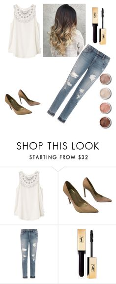 """""""Untitled #78"""" by sanduema on Polyvore featuring RVCA, Stuart Weitzman, Joe's Jeans and Terre Mère"""