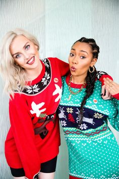 leigh anne pinnock and perrie edwards