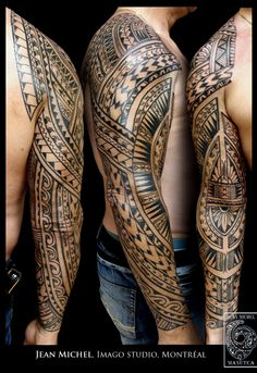 1000 images about tattooproject on pinterest geometric shapes design dandelion tattoos and - Tatouage bras complet ...