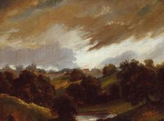 John Constable, Hampstead, Stormy Sky, 1814. Oil on canvas.