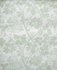 'Blackberry' hand printed wallpaper designed by Marthe Armitage