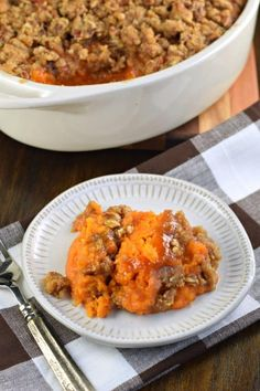 The Rise Of Private Label Brands In The Retail Meals Current Market In My Family, The Best Sweet Potato Casserole Recipe Is One Thats Served Up Sweet And Salty With A Delicious, Crunchy Streusel Topping Best Sweet Potato Casserole, Potatoe Casserole Recipes, Sweet Potato Recipes, Veggie Recipes, Dinner Recipes, Cooking Recipes, Sweet Potato Souffle, Thanksgiving Casserole, Thanksgiving Side Dishes