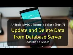 Android MySQL Example Eclipse (Part 7): In this tutorial I will teach you how to do update and delete data from Database server, spoken in Khmer language. If...