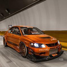 #Mitsubishi #Evo #Modified