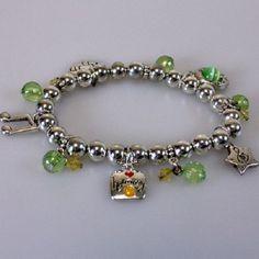 Musical Note Band Mom Fan Charm Stretch Bracelet Novelty Jewelry Gift #TeamMomFanwear