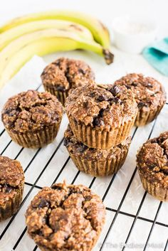 Coconut Almond Paleo Breakfast Muffins are grain-free, gluten-free, sugar-free, dairy-free and delicious. You don't have to be paleo to fall in love with these banana muffins. Breakfast Muffins, Free Breakfast, Banana Breakfast, Eat Breakfast, Paleo Dessert, Dairy Free, Grain Free, Gluten Free, Brunch Recipes