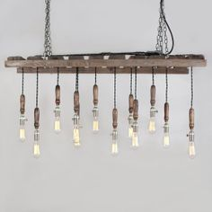 Awesome pallet light fixture pallet crates, old pallets, pallet wood, palle Pallet Crates, Old Pallets, Wooden Pallets, Pallet Wood, Diy Pallet, Diy Wood, Chandeliers, Chandelier Lighting, Rustic Chandelier