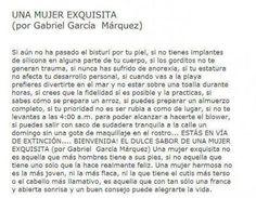 Simplemente Gabriel Garcia Marquez...