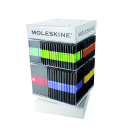 Moleskine Spinner - Counter Spinner Display (Classic) - The Prop Shop - Moleskine Notebooks - Telegram Paper Goods