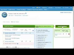 Search CINAHL for Nursing Theories or Models - WaldenULibrary - YouTube