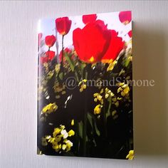 Poppies A5 notebook Valentine teacher gift present Christmas Remembrance by AmandSimone on Etsy