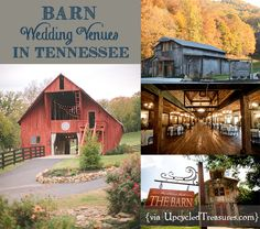 click here for information on barn wedding venues in tennessee httpupcycledtreasures