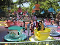 Disneyland, California. Loved the tea cup spinning ride.