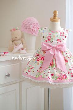 RTS Pretty Princess Floral Dress 12-18mos.