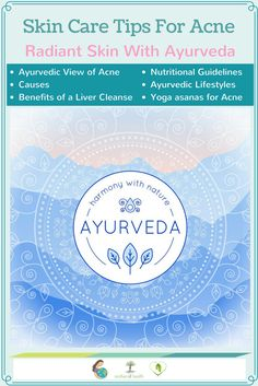 You can heal your acne with these skin care tips for acne using the wisdom of Ayurveda