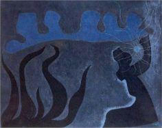 Sea Phantoms - William Baziotes #AbstractExpressionism