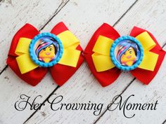 Lego Movie Basic Bows 3 inches www.facebook.com/hercrowningmoment