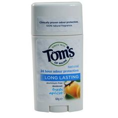 Tom's of Maine Long Lasting Deodorant Stick - Fresh Apricot
