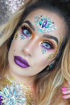 Fairy Unicorn Makeup Ideas For Parties  | makeup | | beauty | |fashion | #makeup #beauty #fashion https://www.fabledwhimsy.com