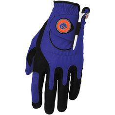 Boise State Broncos Left Hand Golf Glove & Ball Marker Set - Blue