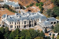 Actor Mark Wahlberg just completed a 30,000-square-foot French manor-style home. The property is one of...