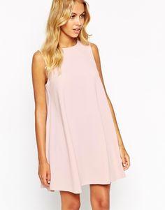 Love Shift Dress with Cut Away Shoulder