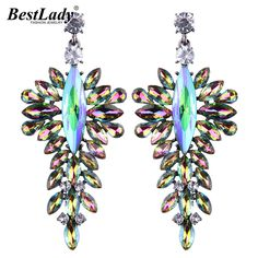 Cheap dangle drop earings, Buy Quality dangle earrings directly from China drop dangle earrings Suppliers: Best lady Big Brand Cheap Crystal Wedding Drop Earrings Special Design Women Female Engagement Party Gift Dangle Earrings 5087