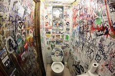 Pub Toilet Graffiti and the Art of Avoiding Sectarian Violence