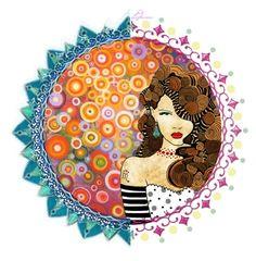"""Rainbow circle"" by ledianaaaaa ❤ liked on Polyvore featuring art"